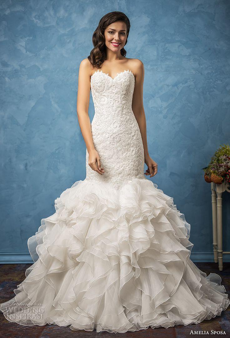 Mejores 139 imágenes de Vestidos de novia en Pinterest | Vestidos de ...