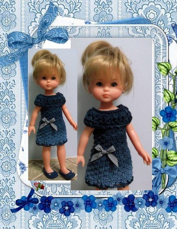 Robe pour poupées chérie