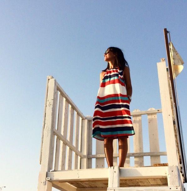 Sun Sea and a fresh dress to live the summer  SUN SEA DRESS RIMINI SUMMER BAYWATCH