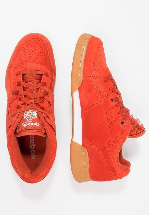 Schoenen Reebok Classic WORKOUT PLUS EG - Sneakers laag - burnt amber/white Oranje: € 89,95 Bij Zalando (op 6-9-17). Gratis bezorging & retour, snelle levering en veilig betalen!