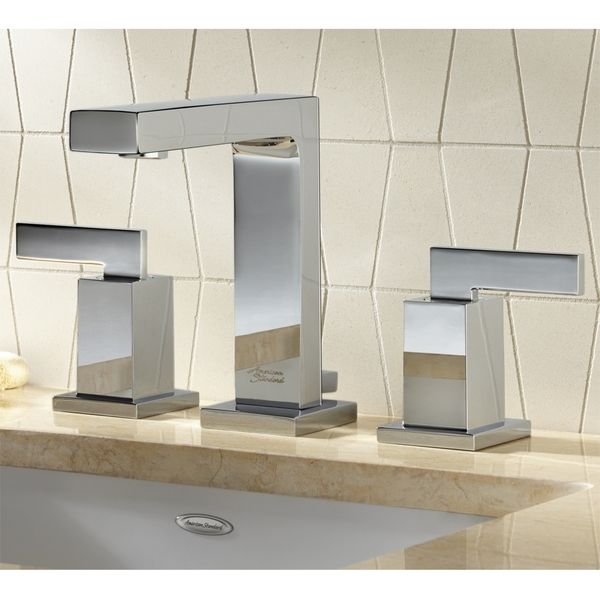 This bathroom faucet features a chrome finish that will easily complement any decor. The contemporary design will appeal to any modern home owner. American Standard Bathroom Faucet 7184.851.002 Polish