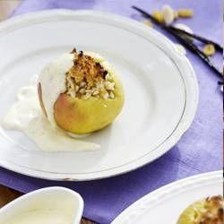 Gevulde appeltjes met amandelen