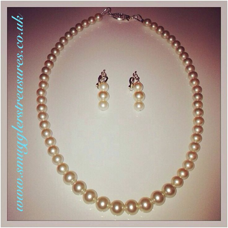Bespoke handmade wedding jewellery for both the bride and bridesmaids, from traditional pearl sets to more alternative designs contact us to discuss your ideas  www.smugglerstreasures.co.uk