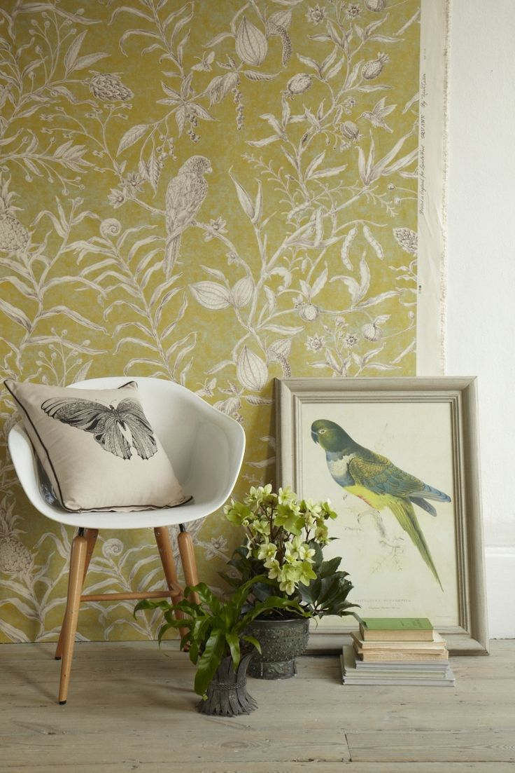 BOTANICAL PRINTS GOODHOMES MAGAZINE MAY 2013 STYLING EMMA CLAYTON PHOTOGRAPHY PENNY WINCER