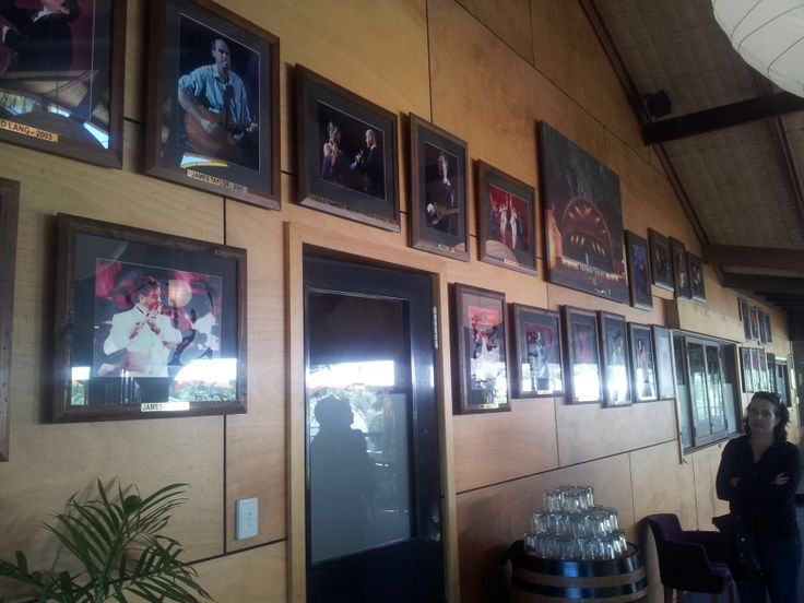 #LeeuwinEstate  #MargaretRiver Performers wall of fame  (#RNAWA13)