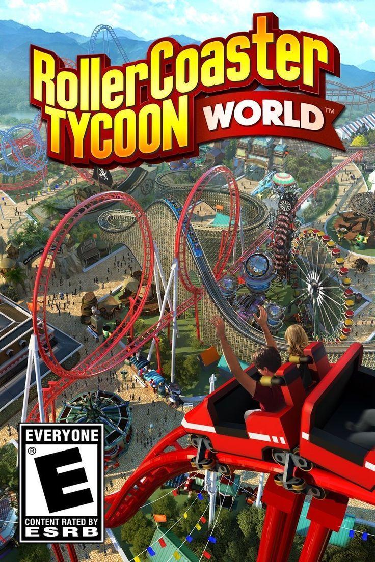 RollerCoaster Tycoon World PC DVD Rollercoaster tycoon