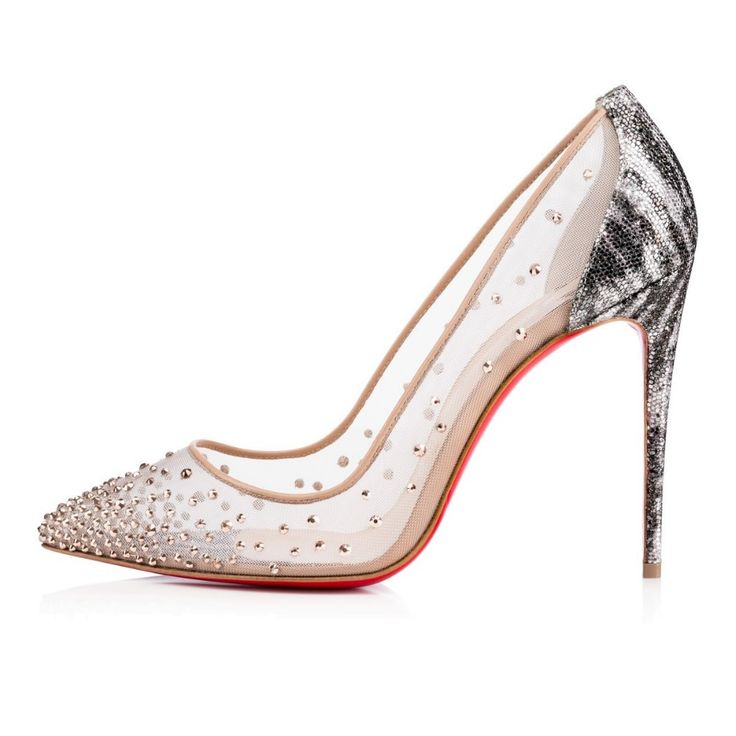 Mesh Red bottom pump · Boot HeelsShoes ...