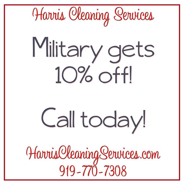 Military always get 10% Off. We give back to where you give to us!!!