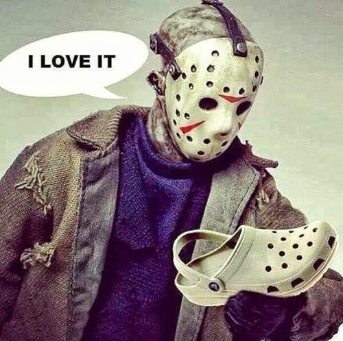 Funny but Mostly for Women Geeks | So I heard you went shopping last week on Friday, the 13th | matthew rappaport - Google+ | #geekhumor | #fridaythe13th