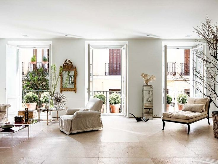 El piso-estudio de Luis Puerta