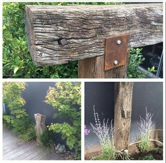 Recycled Bridge Timbers #timberzoo #recycledtimber #recycledbridgetimber #reclaimedtimber