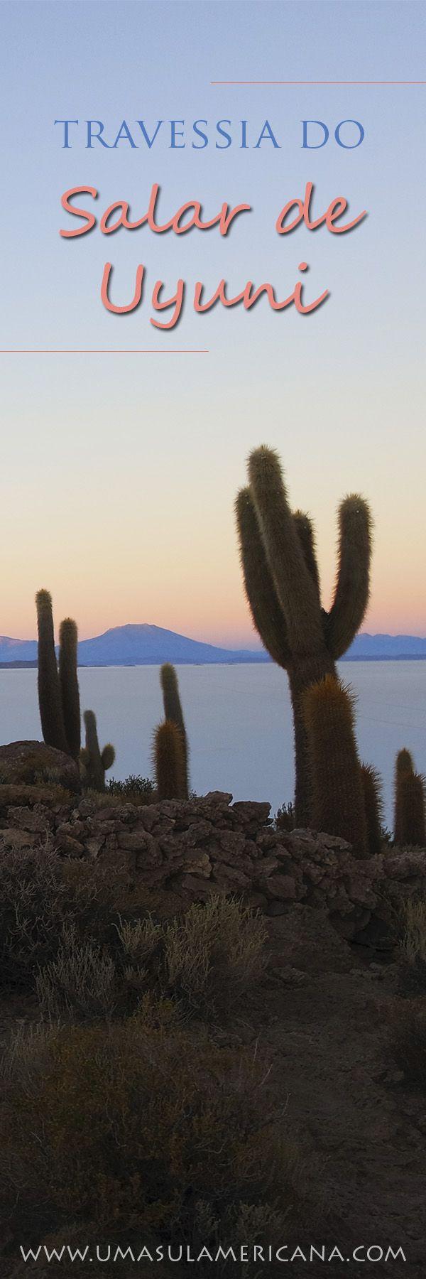 Destinos na Bolívia -  Travessia de 3 dias pelo Salar de Uyuni. Veja como é o dia a dia do tour pelo maior deserto de sal desde San Pedro do Atacama. Veja também quais são as opções para conhecer o Salar de Uyuni: 3 dias, 4 dias ou full day. América do Sul ♥ South America ♥ Bolívia ♥ Nature ♥ Travel ♥ Destinos ♥ Lugares ♥ Uyuni Salt Flats