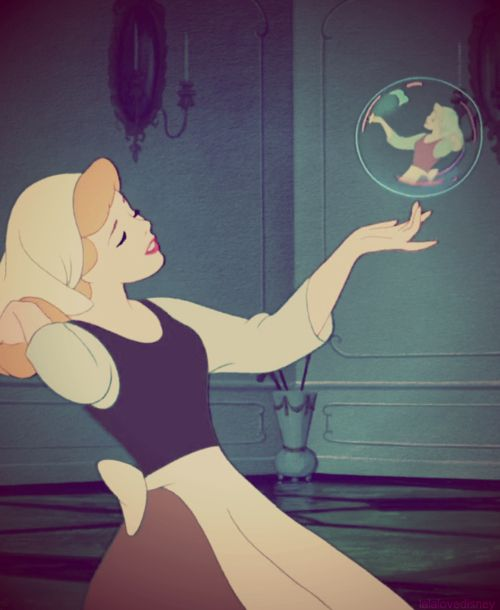 "If you don't like Cinderella because she seems so ""naive"" and ""weak,"" listen to this quote from the Walt himself: ""She believed in dreams, all right, but she also believed in doing something about them.   When Prince Charming didn't come along, she went over to the palace and got him."""