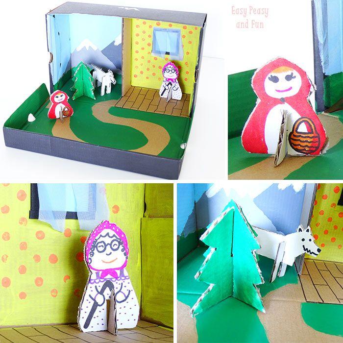 Story Box {Shoe Box Craft} - Easy Peasy and Fun