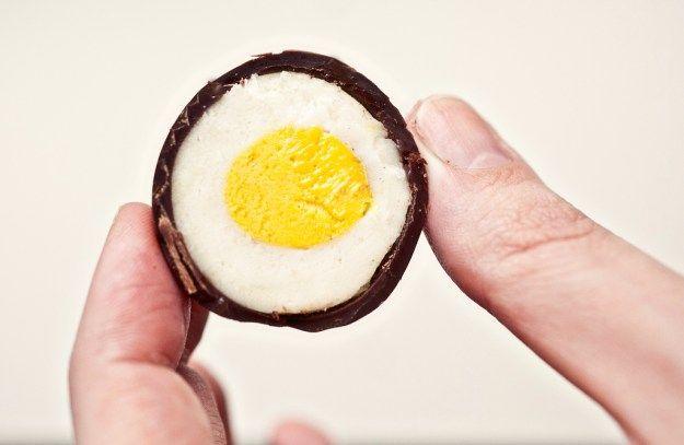Homemade Cadbury Creme Eggs - Not Without Salt