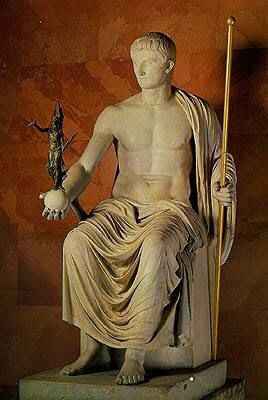 Statue of the Emperor Octavian Augustus Rome  First quarter of the 1st century
