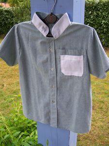 chemise garçon 8 ans