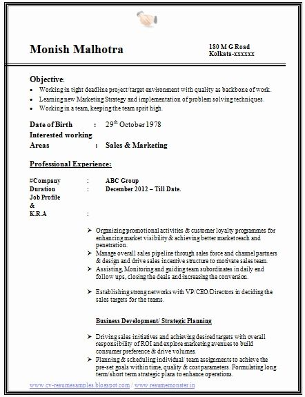 How To Prepare Resume For Ca Articleship 12 Best Of Articleship