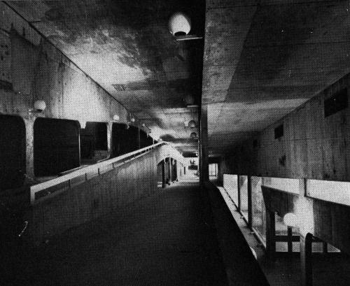 G.E.M. Commercial Center, Sens, France, 1970  (Claude Parent)