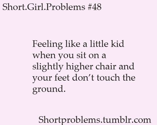 When this happens, i have to tuck my feet under me, so others can't see