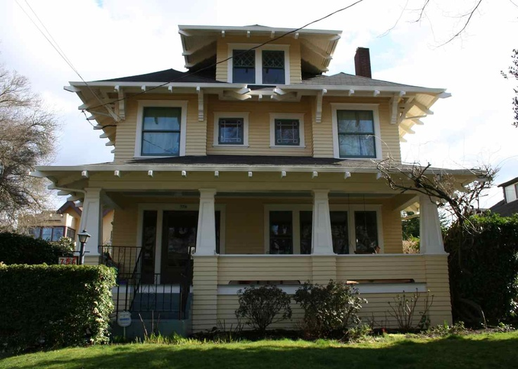 1000 images about house exteriors early 1900s on for Portland craftsman homes