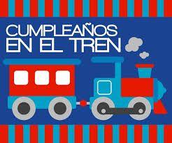 cumpleaños tren - Buscar con Google