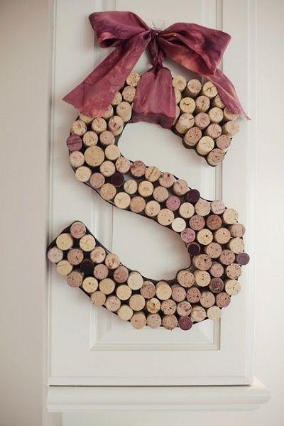 10 ideas para decorar con tapones de corcho reciclados