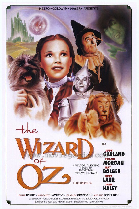 The Wizard of Oz movie posters at MovieGoods.com