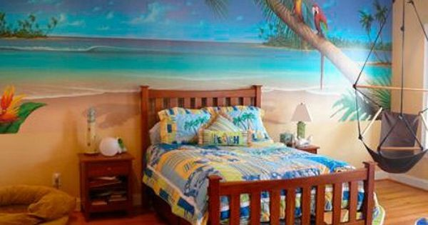 17 best ideas about hawaiian theme bedrooms on pinterest for Bedroom beach theme ideas