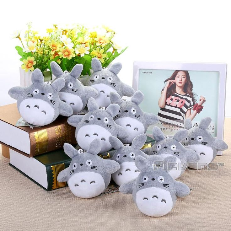 My Neighbor Totoro Mini Plush Toys 10pcs/lot