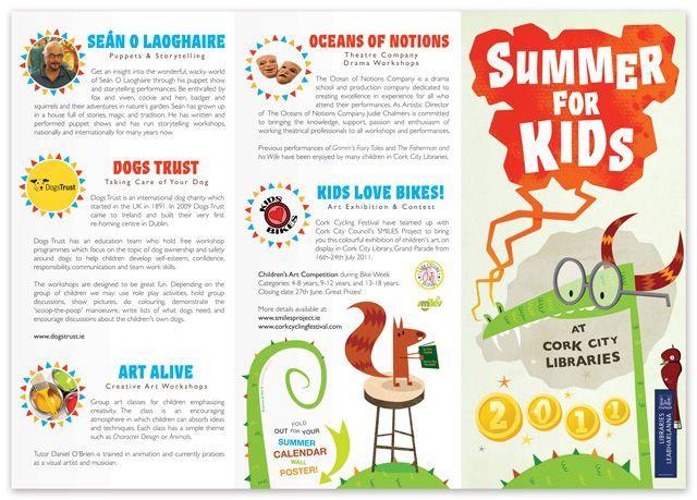 18 best Kids Brochures images on Pinterest Editorial design, For - sample preschool brochure