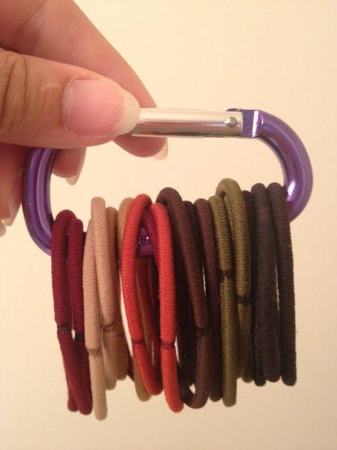 Hairband Organizer - great idea! Doing this!
