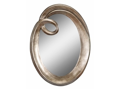 Esmeralda Oval Wall Mirror by Stein World. Esmeralda oval mirror is simple yet chic with its swooping curl and gently sloping antique finished frame. We've sold this mirror several times...