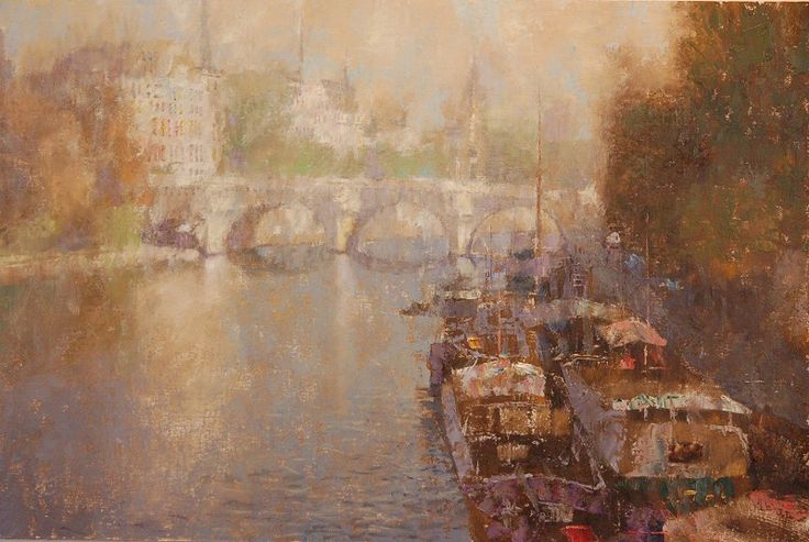 Artist: C.W. Mundy - Title: View of the Pont Neuf ...