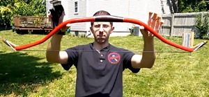 How to Make a Turkish-Style War Bow from PVC Pipe « PVC Innovation
