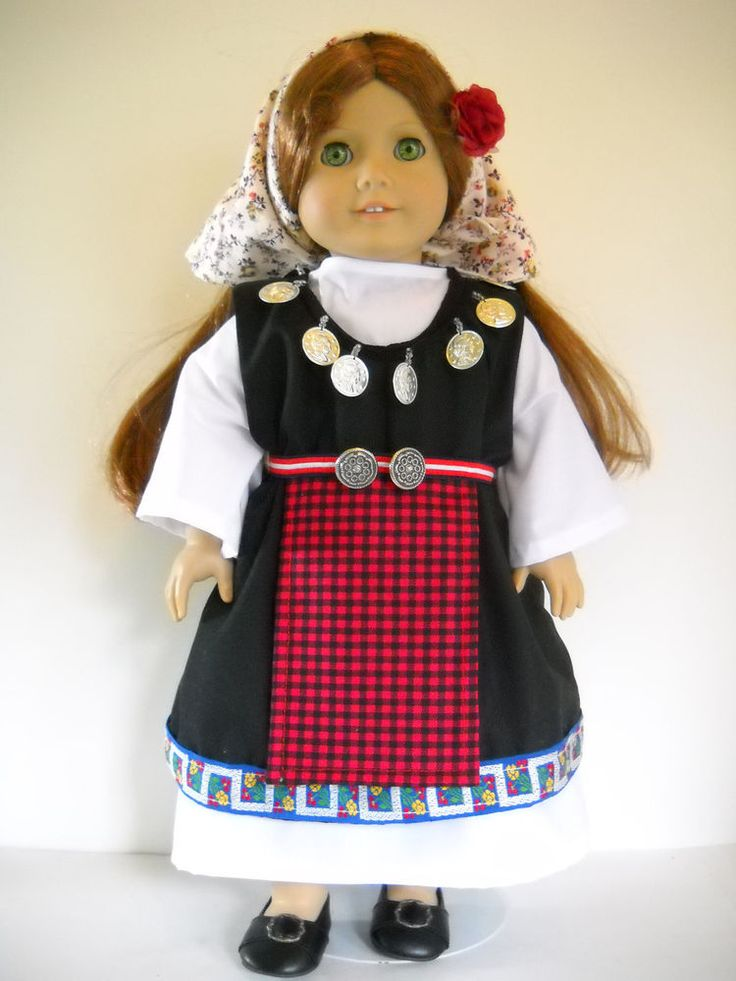 412 best 18 doll ethnic clothes images on pinterest ag dolls fits 18 american girl doll bulgaria bulgarian dress clothes i costume publicscrutiny Image collections