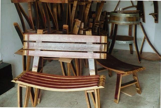Bottom of the Barrel Co. ~ Wine Barrel Furniture