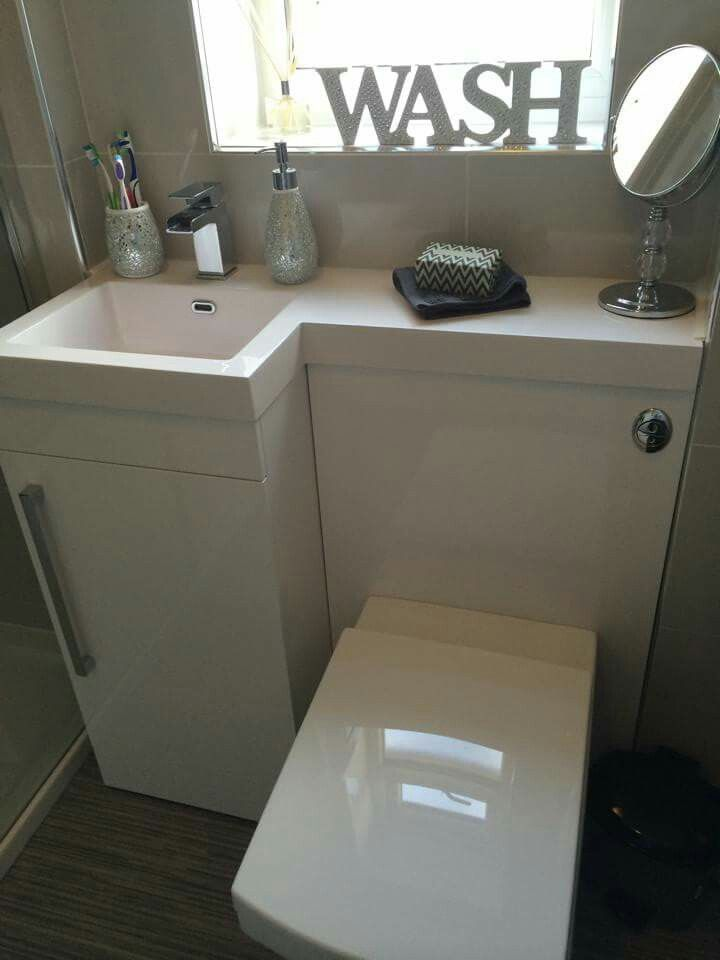 ... sink toilet combo on Pinterest Toilets, Small wet room and Sinks