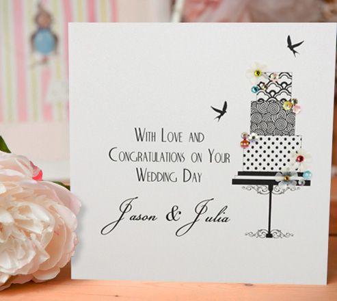 Personalised Wedding Cards - visit www.fivedollarshakepersonalise.com