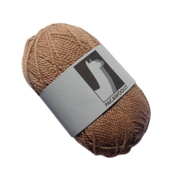 Pacawoolly Light Fawn, 100% Australian Alpaca, 4 ply, 50g - I Wool Knit