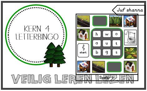 Kern 4: letterbingo VLL