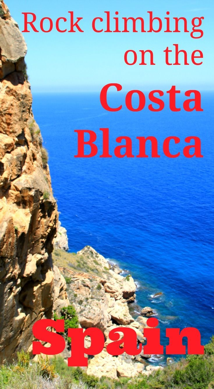 The Costa Blanca in Spain is an outstanding rock climbing holiday destination, with a vast number of routes in stunning settings, as well as all the beach and food relaxation time you could want! http://www.worldwanderingkiwi.com/2016/07/spain-rock-climbing-costa-blanca/
