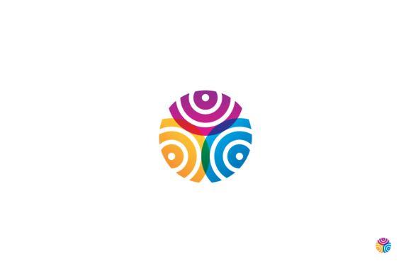 Mosaic company logo. by anton.akhmatov on Creative Market