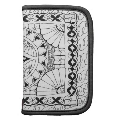 Zentangle Zendala Rickshaw Folio Organizer