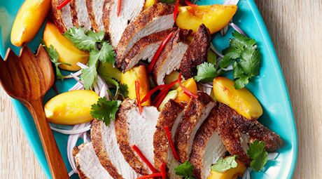 Curried chicken and peach salad | Favorite Places & Spaces | Pinterest ...