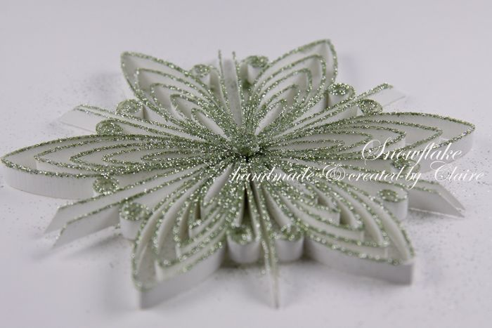 Claire 2011 11 10 paper quilling snowflake instructions http