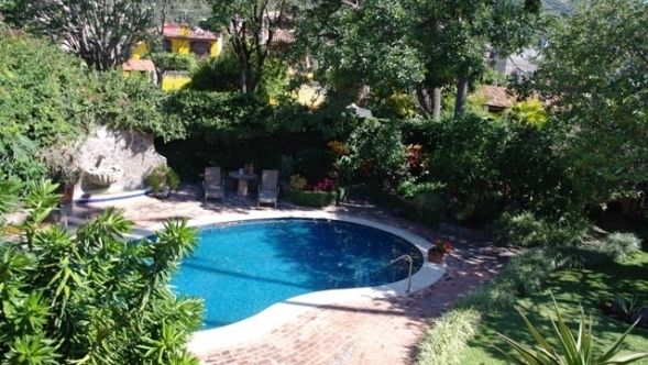 Quiet home in Ajijic Lake Chapala Mexico for sale.