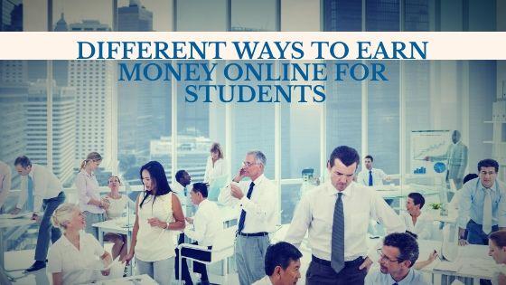 Different ways to earn money online for students – https://www.nimeerlink.com