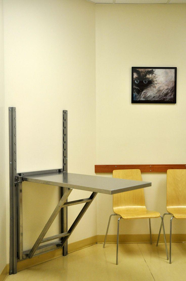One of four spacious examination rooms