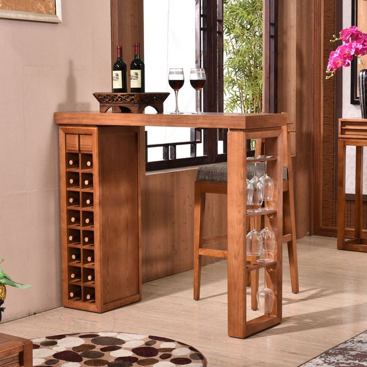 Chinese woonkamer wijnkast massief houten bar tafels en stoelen combinatie Kast Kantoor Bar Room(China (Mainland))